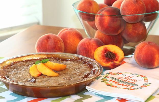 第136回モノコン Fresh Peach Crisp♪