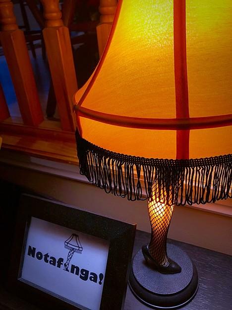Christmas Story lamp♪