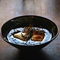 写真: 第140回 モノコン  黒ごまぜんざいと和食器