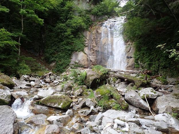 滝 15m ここで引き返す