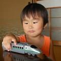 電車に夢中っ