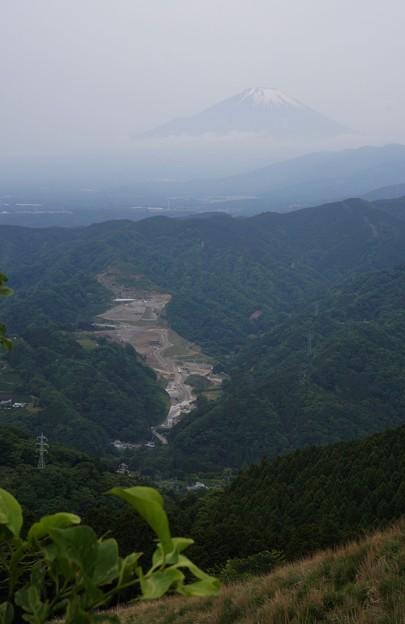 ブーツと富士山
