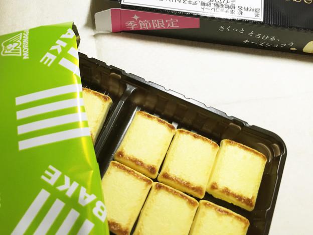 20151114-01『森永』のチョコ菓子「ベイク クリーミーチーズ」03