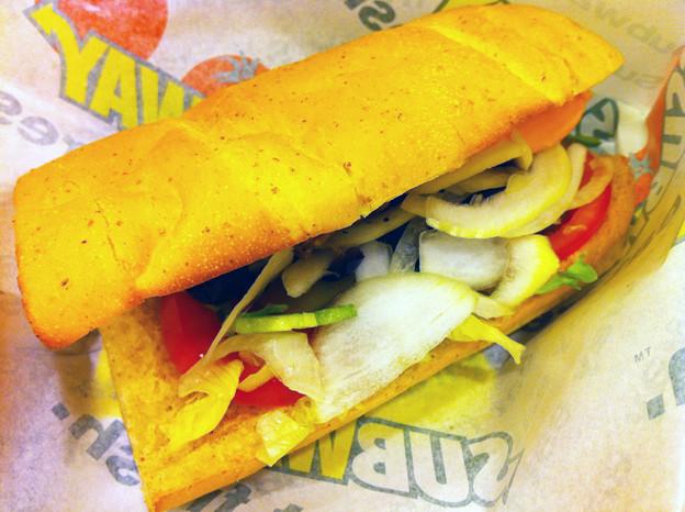 20110723-01『サブウェイ』フィリーステーキ&チーズ01