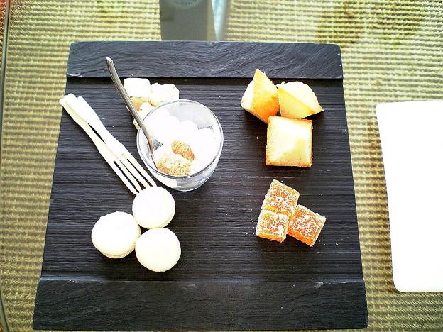 20060903-01【ランファン・キ・レーヴ】地鶏の炭火焼 わさび風味&マンゴーアイス02