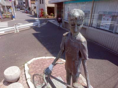 旅自転車オブジェ