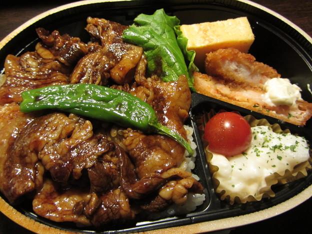 eashion「スペイン産ベジョータイベリコ豚と海老カツ弁当」
