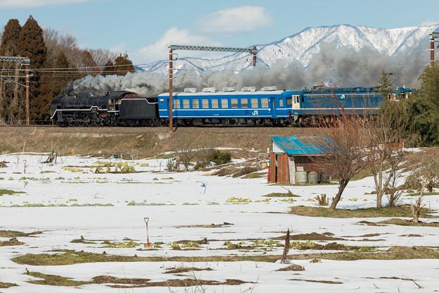 JR北陸本線 河毛~高月