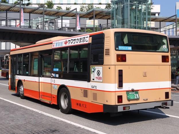 神姫バス 山崎6470(日野・KC-HU2PMCE) リア部