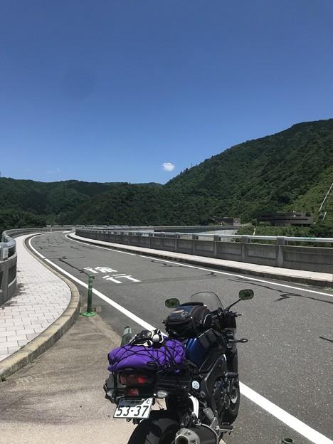 広島県北西部 R186沿いのオアシス  温井ダムにて