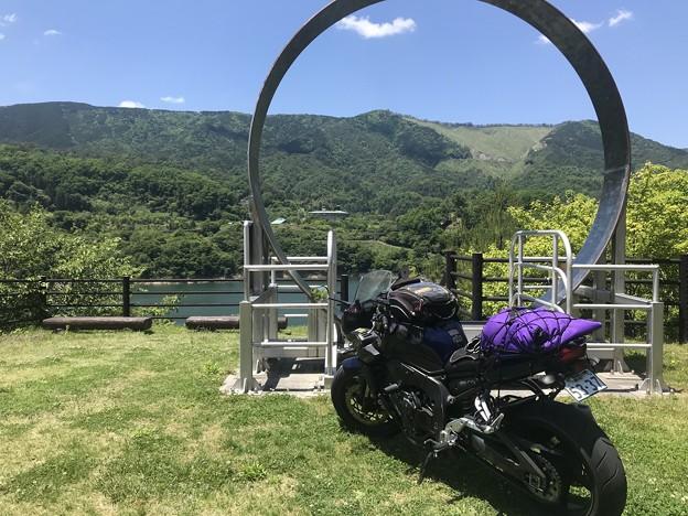 湖畔の景色が美しい ぬくいダム