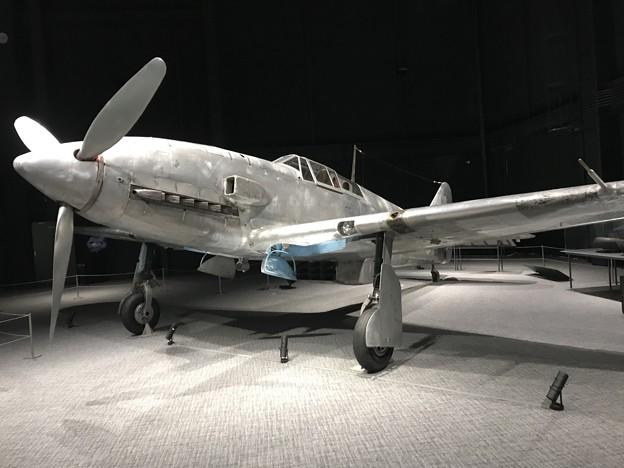 航空宇宙博物館 唯一の液冷(油冷)直6エンジン搭載機