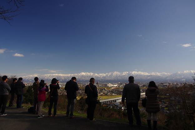 立山連峰絶景ポイント