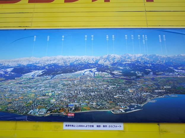 写真: 魚津空撮DSフォート