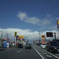 写真: なんかすごい雲がやってくる