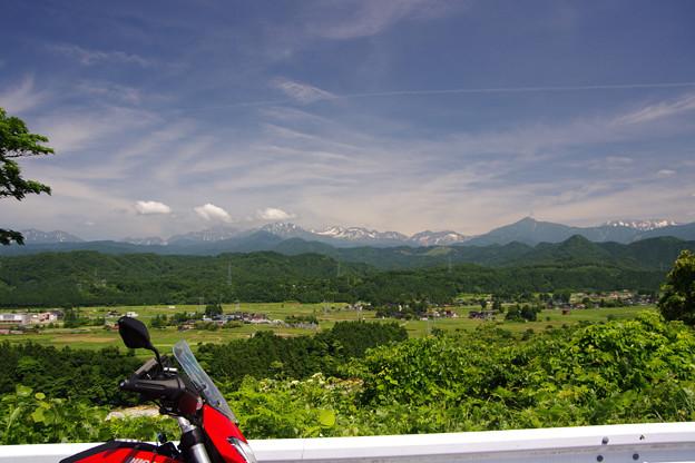 大山上野からの立山連峰