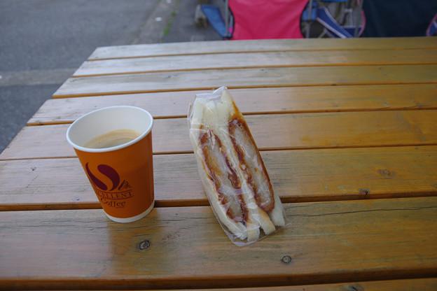 立山サンダーバード名物、おもしろサンドイッチ
