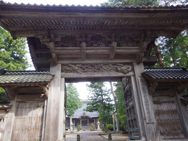 本法寺山門