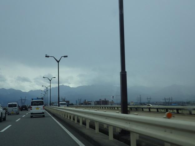来た、台風21号