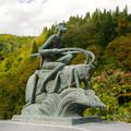 Photos: 西忍橋のモニュメント