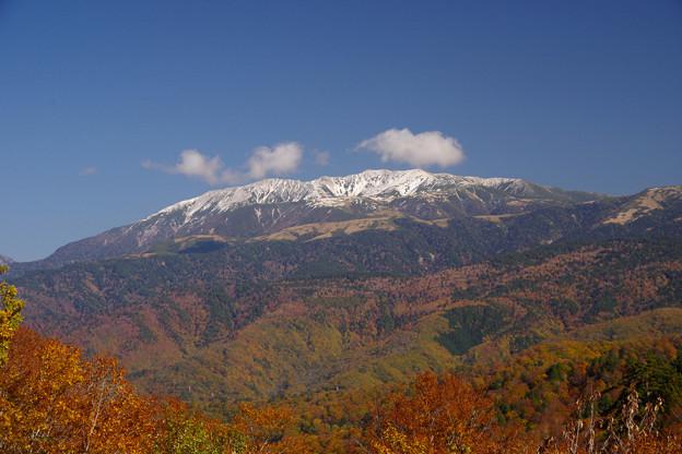大多和峠からの薬師岳