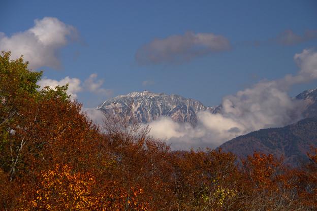 大多和峠からの雄山