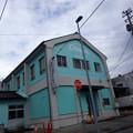魚津漁港近くにおしゃれな建物が