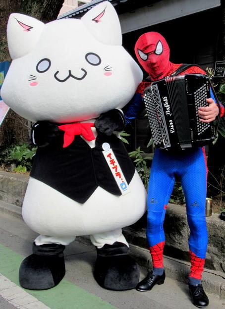 イチプラくん と アコーディオンスパイダーマン