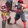 Photos: 赤鬼 と 武蔵忍法伝 忍者烈風