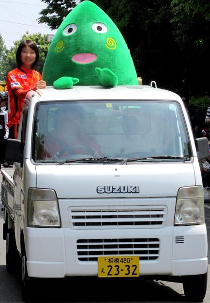 パレードに参加する・・ヤマトン