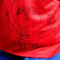 Photos: ひのじゃがくんが描いた・・オエムシくん と 海苔巻き珍太郎