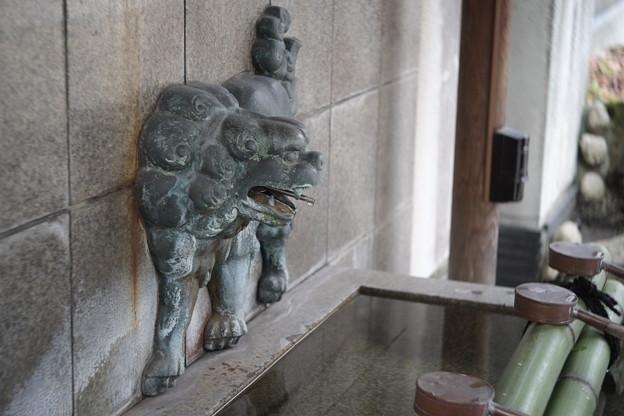 難波八坂神社の手水舍