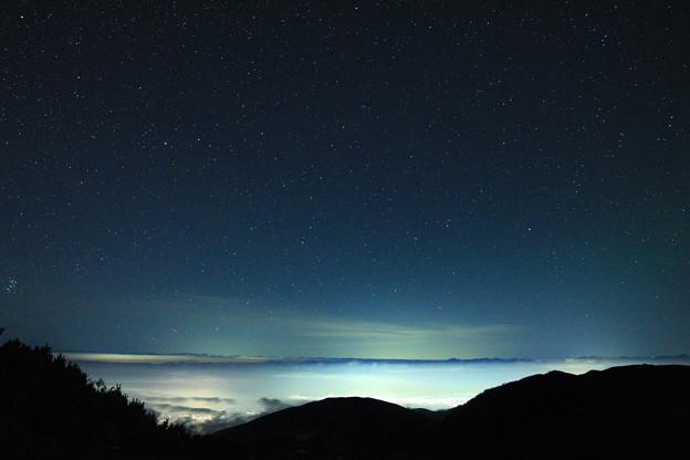 蝶ヶ岳山頂3