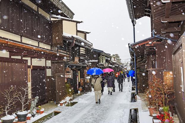 高山古街冬景