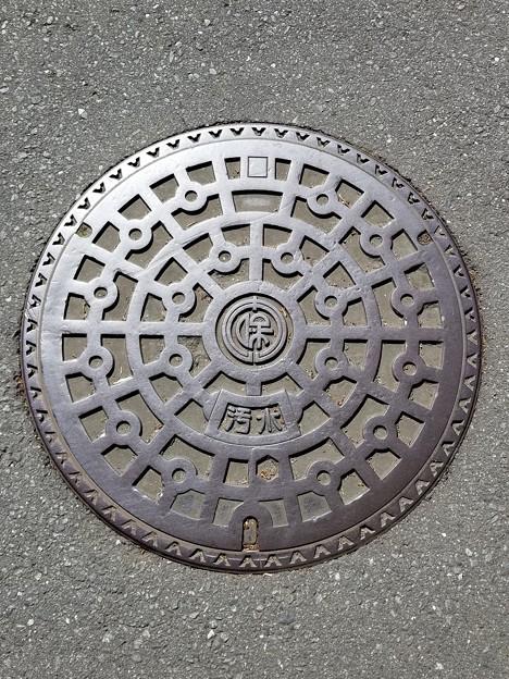 東京都保谷市のフタ(汚水)