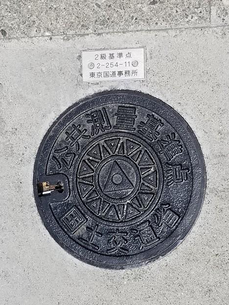 国土交通省のフタ(公共測量基準)