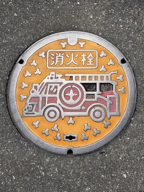 茨城県土浦市のフタ(消火栓)