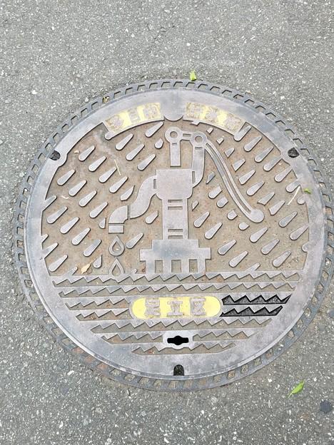 東京都足立区のフタ(多目的貯水槽)