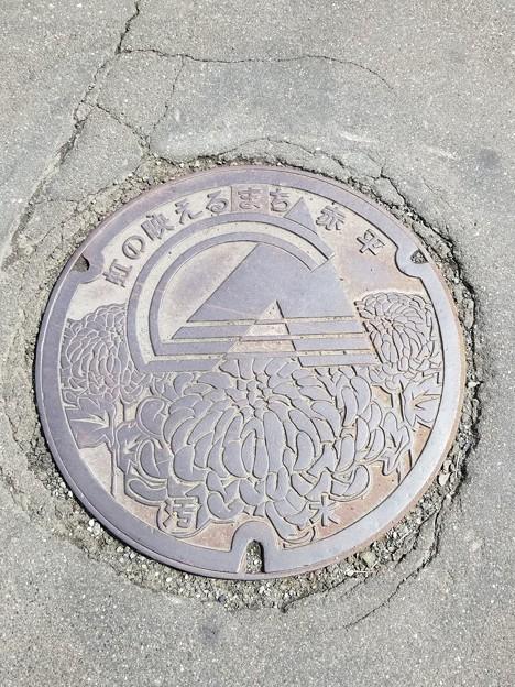 北海道赤平市のフタ(汚水)