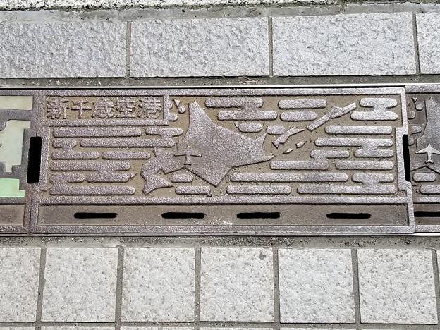 新千歳空港のフタ(新千歳空港)