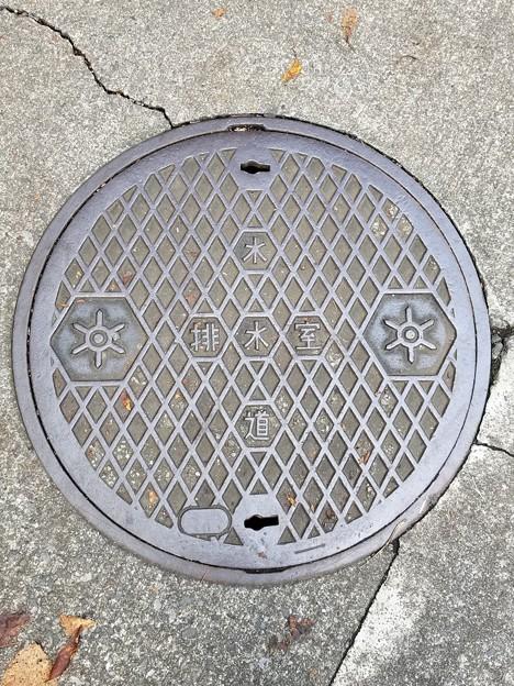 東京都水道局のフタ(排水室)