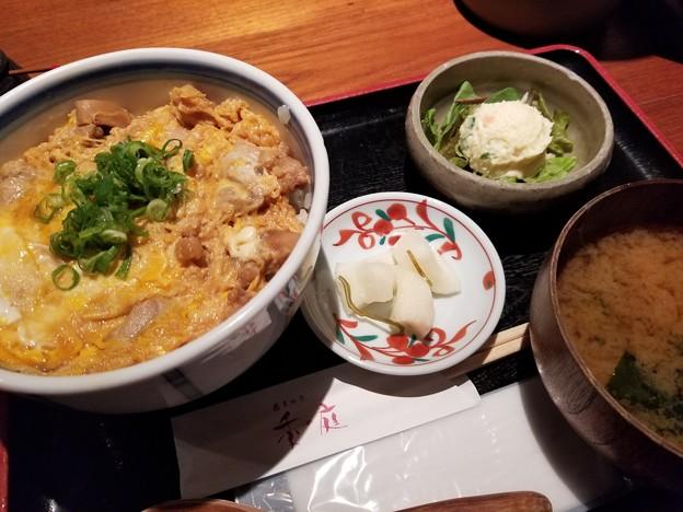 180928【季の庭】大山鶏の親子丼/900円(東京都千代田区神田淡路町1-11-3)