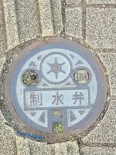 東京都下水道局のフタ(制水弁)