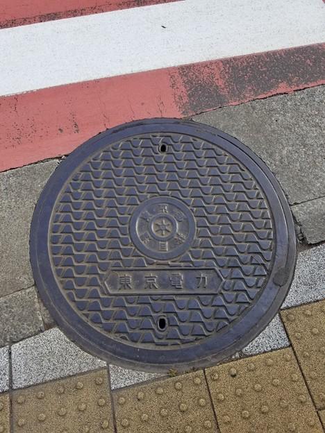 東京都共同溝のフタ(東京電力)