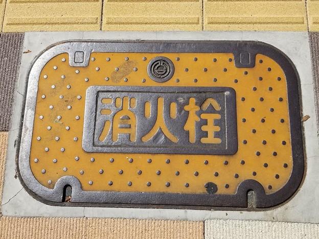埼玉県熊谷市のフタ(消火栓)