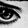 写真: 瞳は正直なの?