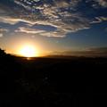 写真: あの日の夕焼け