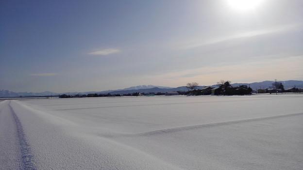 雪の守門岳