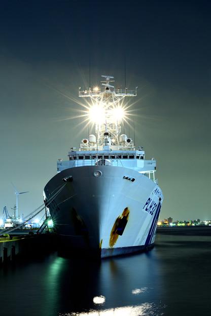 写真: 巡視船「あきつしま」