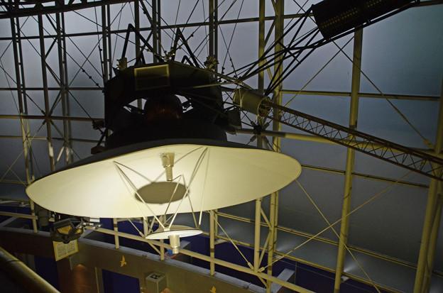 1月30日、多摩六都科学館-ボイジャー模型展示